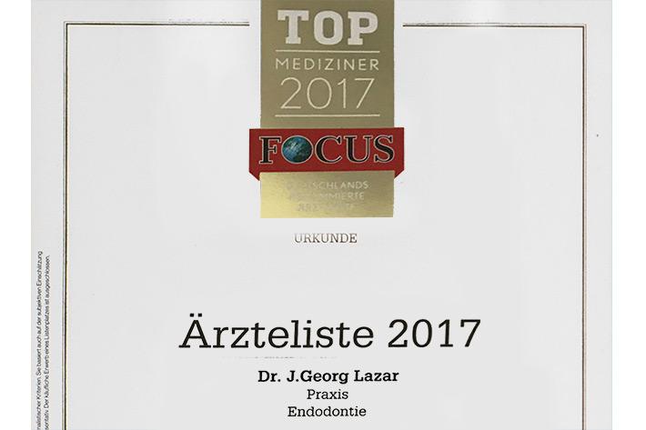 Top Mediziner 2017 Buchholz - Zahnarzt